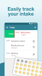 Pill Reminder & Medication Tracker - MyTherapy APK screenshot thumbnail 2