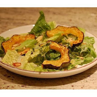 Roasted Acorn Squash and Candied Lemon Zest Salad