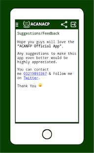 ACANACP screenshot