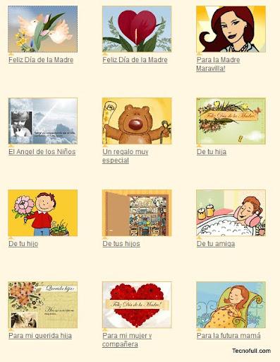 Generador de tarjetas para el dia de la madre