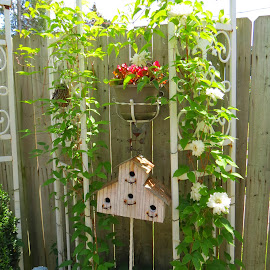 Patio Gardening by Rita Goebert - Artistic Objects Other Objects (  )