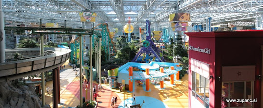Photo: Indoor adventure park in the Mall of America