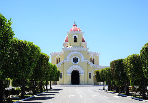 church-in-colon-cemetery.jpg - A pretty church inside Colon Cemetery (also known as Christopher Columbus Cemetery) in Old Havana.