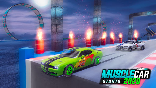 Muscle Car Stunts 2020: Mega Ramp Stunt Car Games 1.2.1 screenshots 13