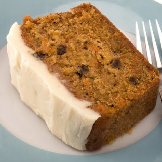Eggless, Sugar-Free Carrot Cake with Sugar-Free Cream Cheese Frosting