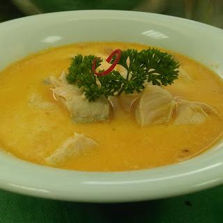 Salmon Tomato Cream Soup