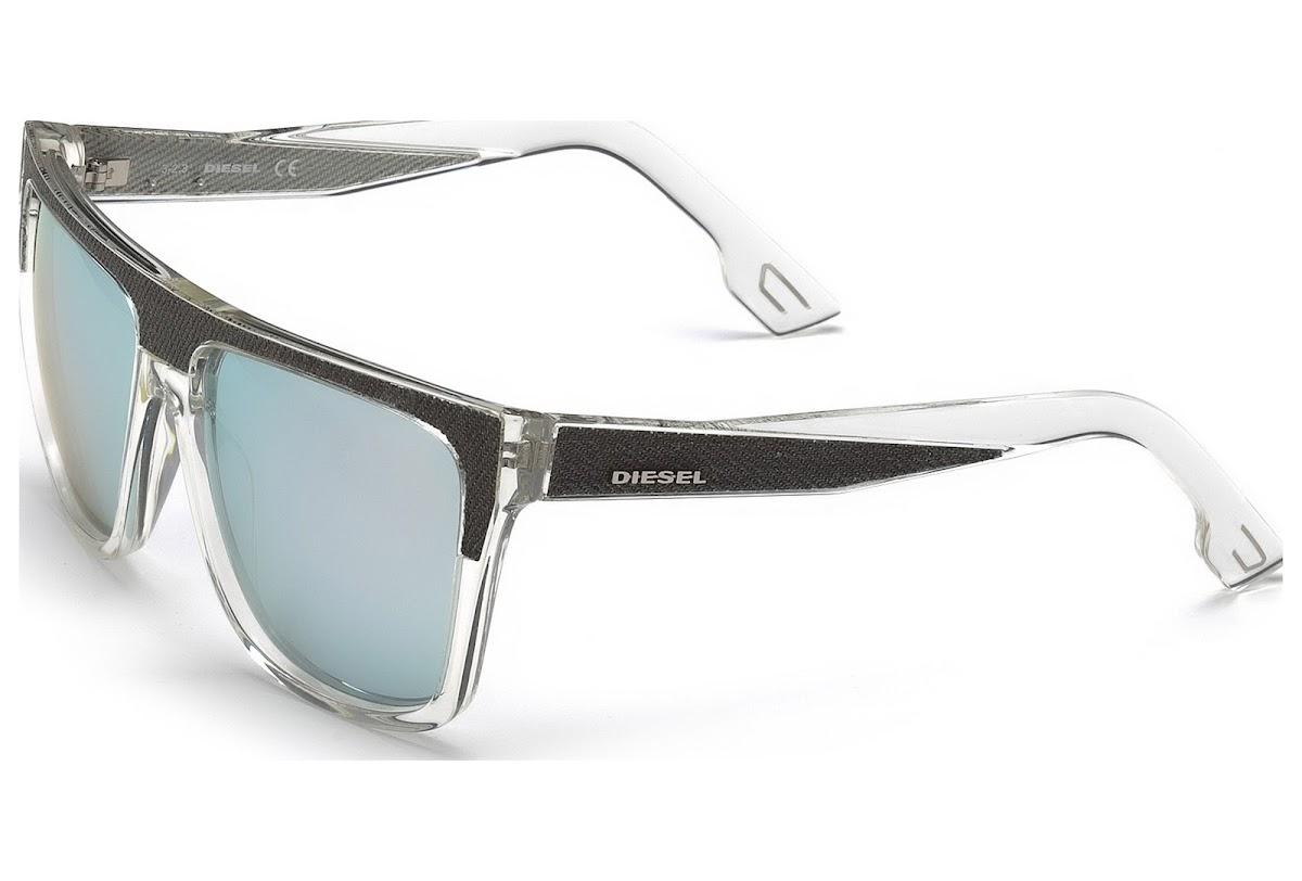 Comprar Gafas de sol Diesel DL0099 26C (crystal   smoke mirror ... 9728e37e03