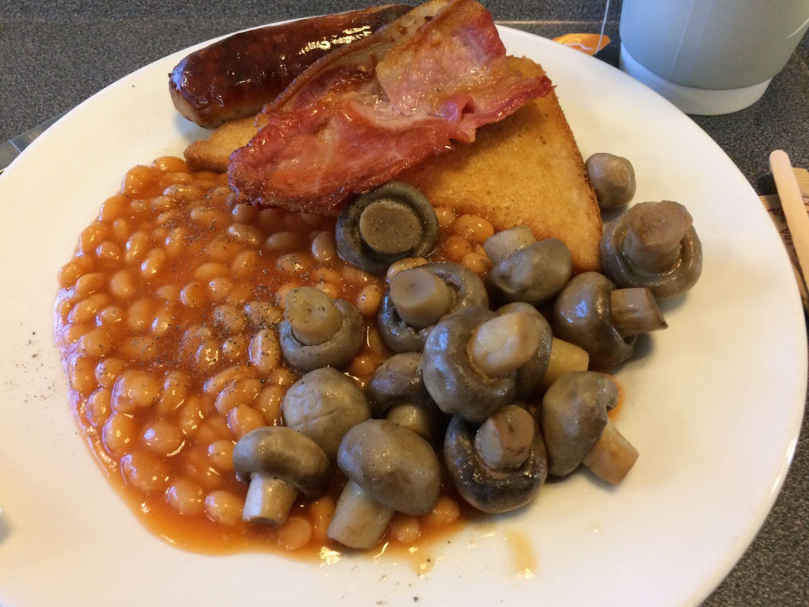 Frühstück für Champions.