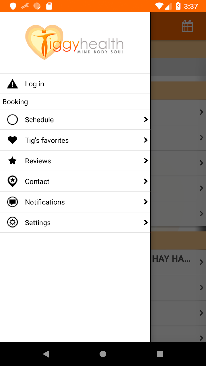 Скриншот Tiggy Health