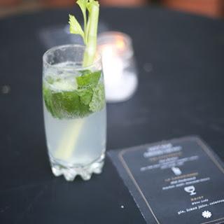 Cucumber Celery Mint Gin Rickey