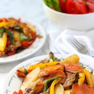 One Pot Pork Vegetable Stew