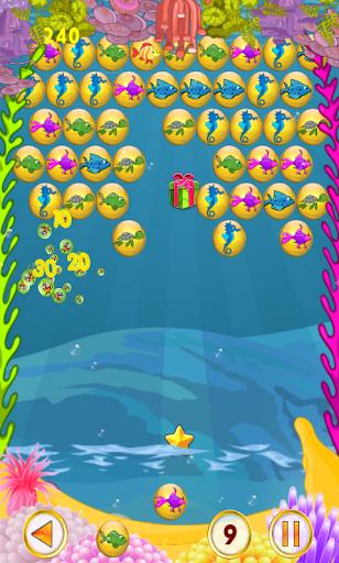 泡泡射擊 - 魚的故事