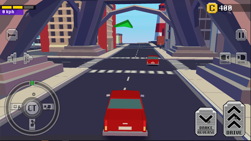 Crazy Car: Fast Driving In Town  άμαξα προς μίσθωση screenshots 1