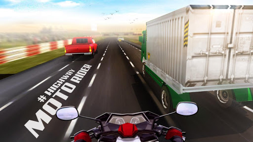 Highway Moto Rider - Traffic Race  captures d'écran 2