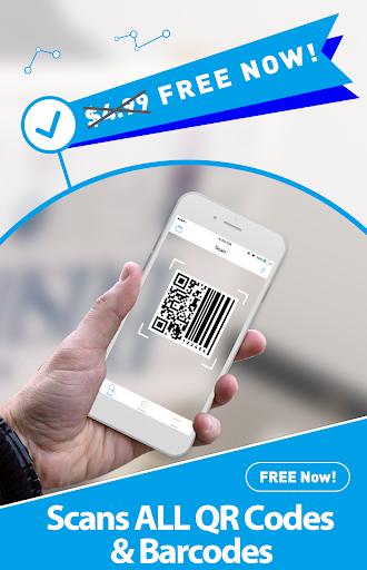 Free QR Scanner: Bar Code Scanner & QR Code Reader Screenshot