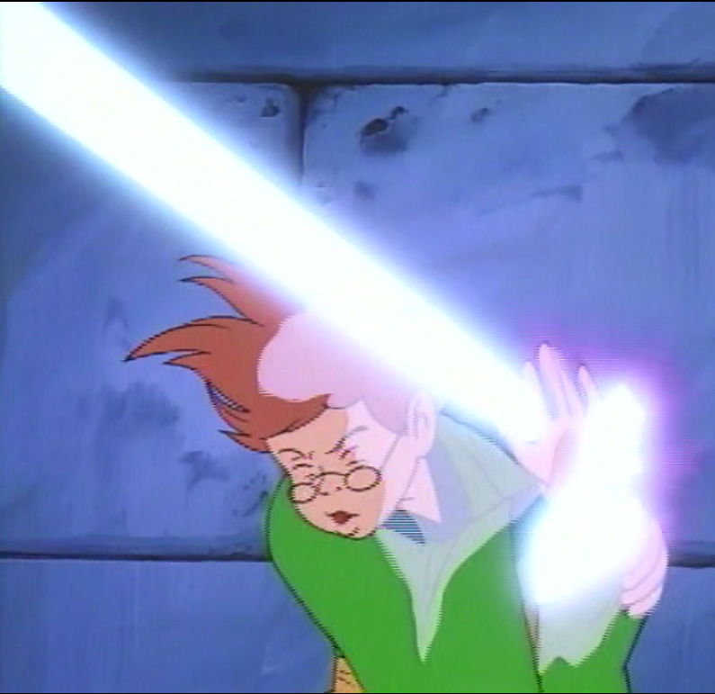 Presto almost hit by a magic blast