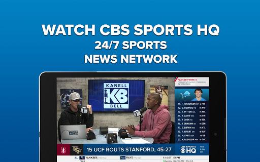 CBS Sports App - Scores, News, Stats & Watch Live 9.75 Screenshots 7