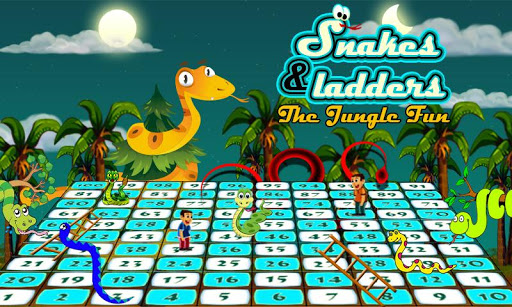 Snakes N Ladders The Jungle Fun Game 1.0 screenshots 5