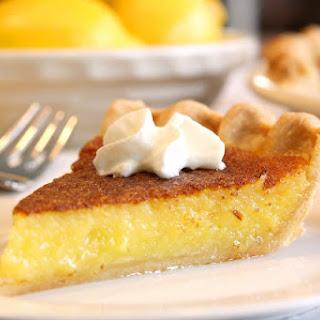 No. 10 - Lemon Chess Pie Recipe