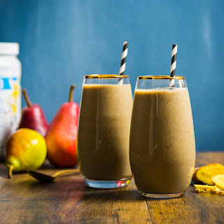 Pear Ginger Smoothie.