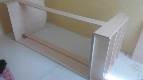 Детская кровать из ЛДСП своими руками