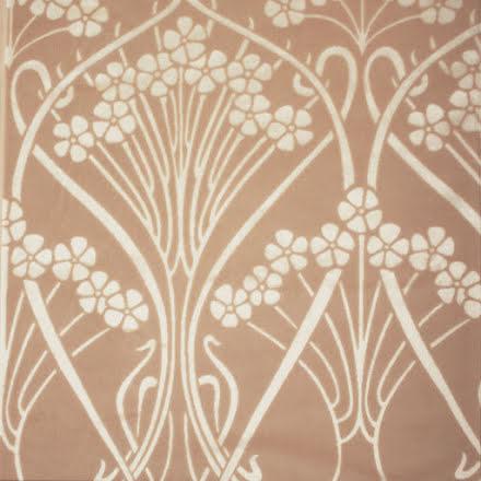 Ianthe Velvet Plaster Pink från Liberty Fabrics Interiors