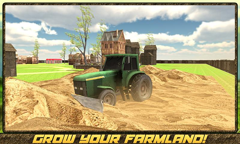 android Hay Farm Plow Truck Driver Screenshot 5