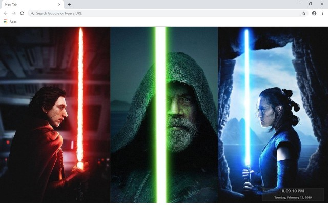 Star Wars New Tab & Wallpapers Collection