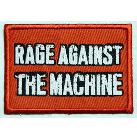 Rage Against The Machine - Red Logo Tygmärke