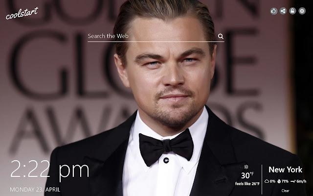 Leonardo DiCaprio HD Wallpapers New Tab Theme