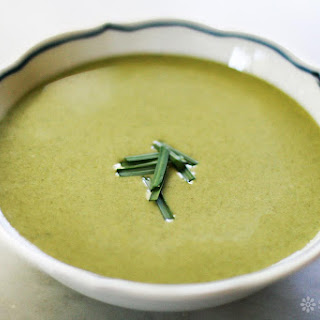 Cream of Spinach Soup.