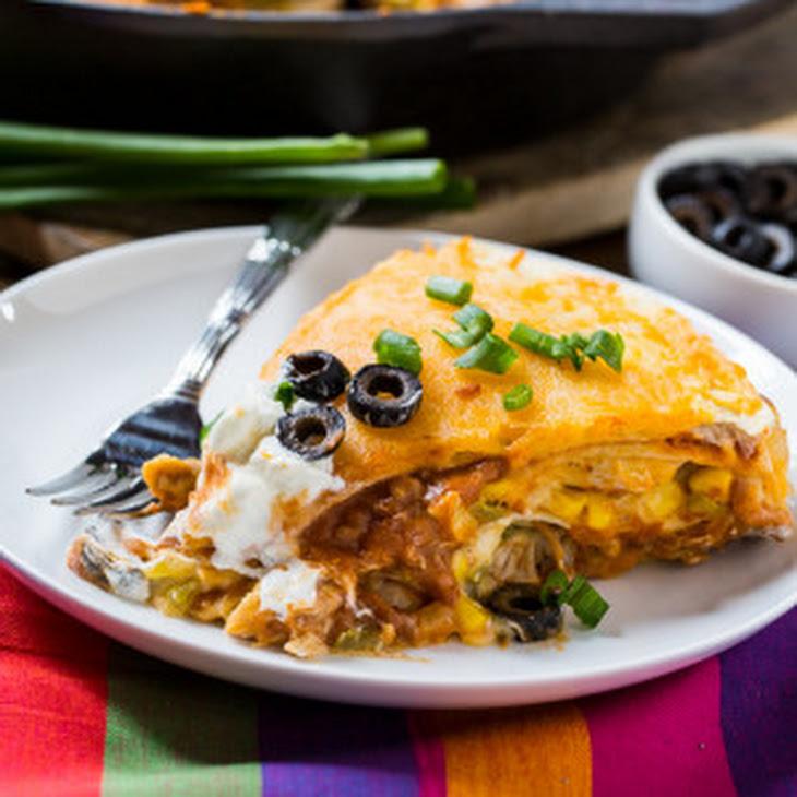 Chicken Tortilla Pie Recipe | Yummly