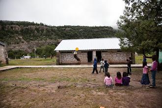 Photo: Duro entertains kids