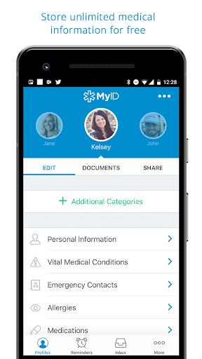 Image of MyID u2013 Medical ID Profile 5.2.0 2