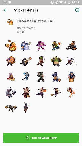 Overwatch Stickers 1.2 screenshots 1