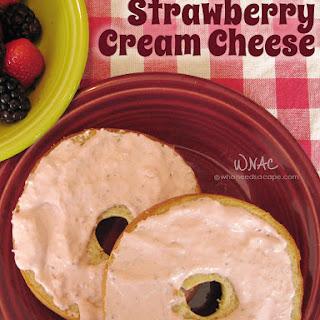 Strawberry Cream Cheese.