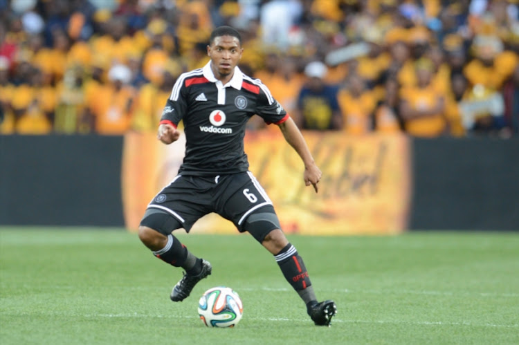 Thandani Ntshumayelo during the Carling Black Label Cup match between Kaizer Chiefs and Orlando Pirates at FNB Stadium on July 26, 2014 in Johannesburg, South Africa.