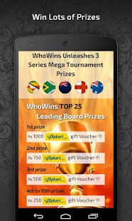 WhoWins Sports Entertainment- screenshot thumbnail