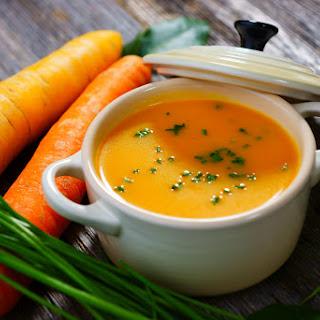 Healthy Carrot & Ginger Soup Maker Soup