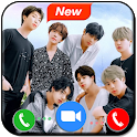Prank Video Call BTS  - BTS Call You Simulation icon