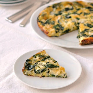 Spinach and Havarti Egg Bake.