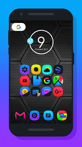 Light X - Icon Pack Lietotnes par Android screenshot