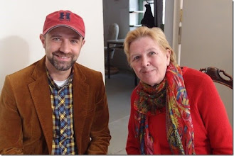 Photo: Künstlergespräch MAX EMANUEL CENCIC mit Dr. Renate Wagner am 19.4. 2015 in der Merker-Online-Galerie Foto: Herta Haider