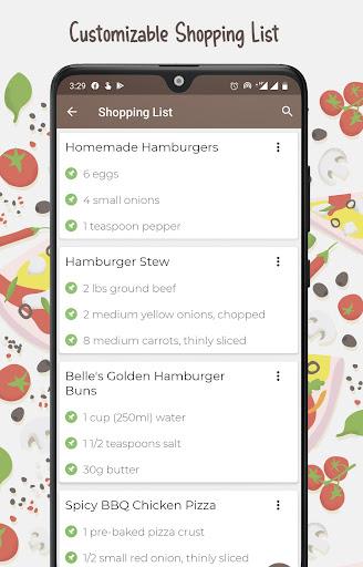 Burger And Pizza Recipes 25.7.5 screenshots 5