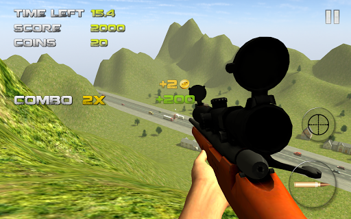 Sniper: Traffic Hunter screenshot 5