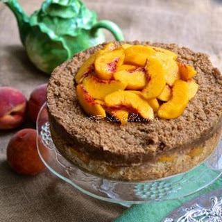 Italian Peach Crumb Cake with Streusel Topping