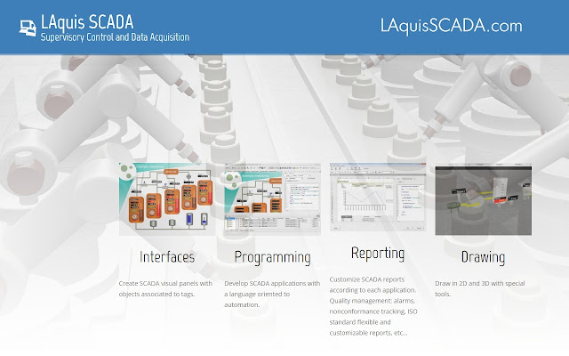 SCADA and tutorial website - LAquis 4 1