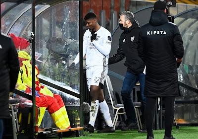 Emmanuel Agbadou connaît sa sanction, clémente, après son expulsion face à Ostende