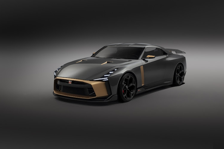 The jury is out on whether the next-generation Nissan GT-R will look like this Italdesign GT-R50 concept. Picture: SUPPLIED
