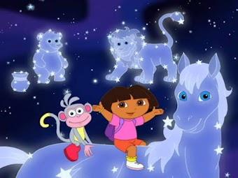 """Dora et """"Pegasus"""", le cheval ailé"""